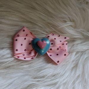Tarina Tarantino pastel hello Kitty pink heart bow